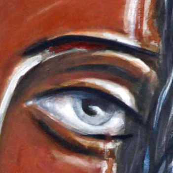 Detail of There are so many truths one can not speak